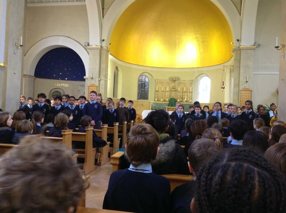 Assembly at Our Lady of Lourdes