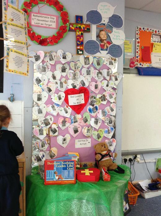 Our EYFS Prayer Table