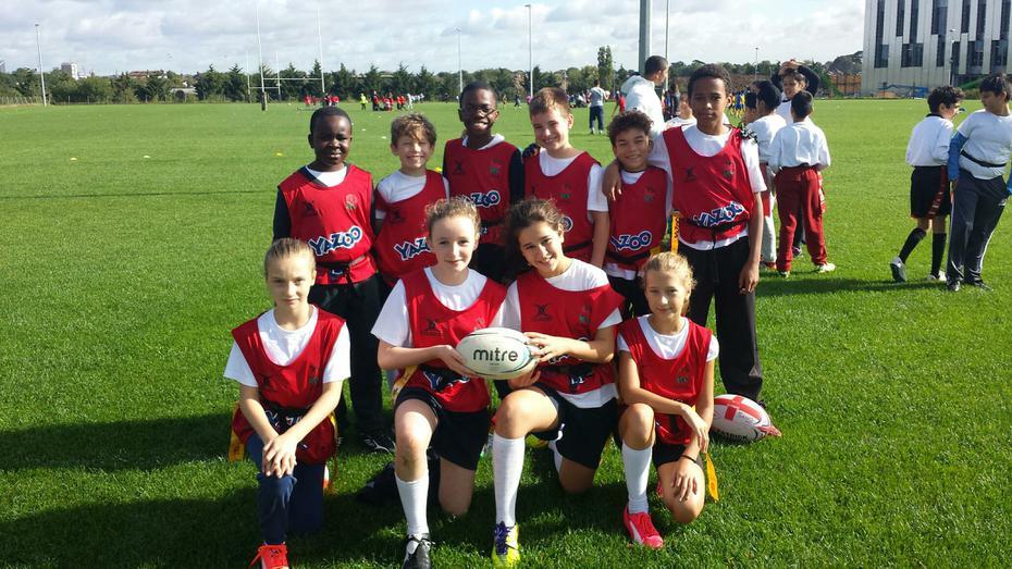 Tag Rugby A Team