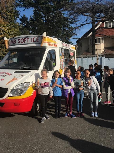 Free ice creams to celebrate McMillan