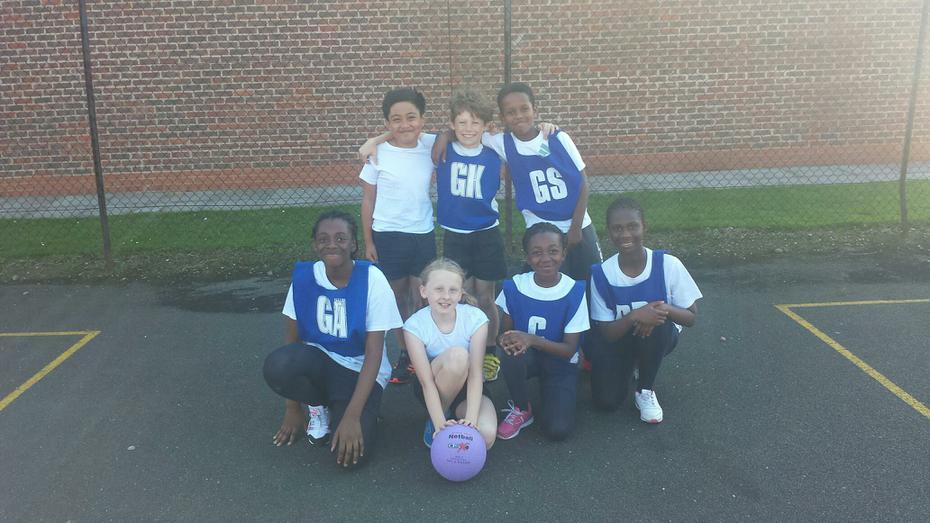 Netball B Team