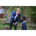 High five for Prince Harry
