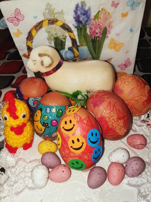 Fabian's Easter Garden