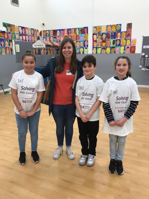 Emma  (SKC) congratulates the School Council
