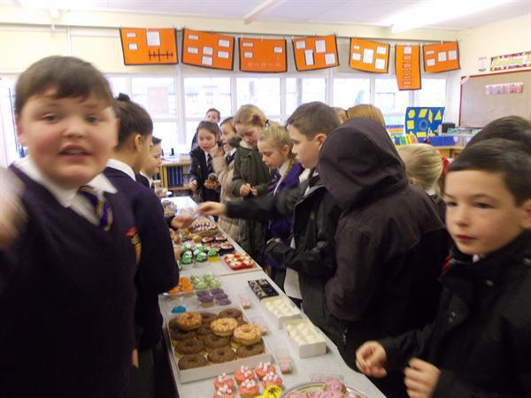 Cafod Cake Sale