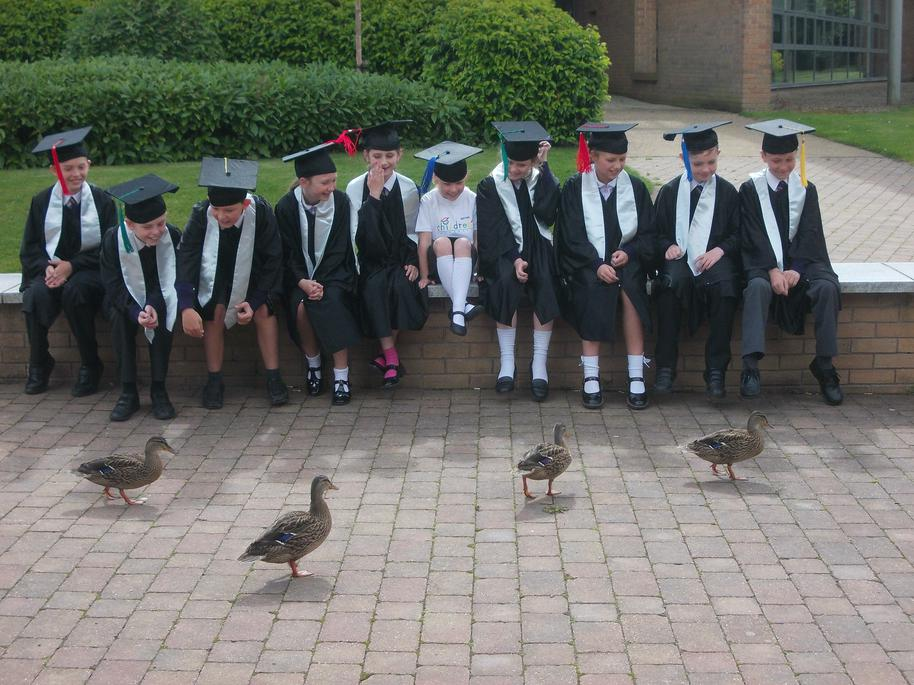 Children's University Graduation Edge Hill 2016