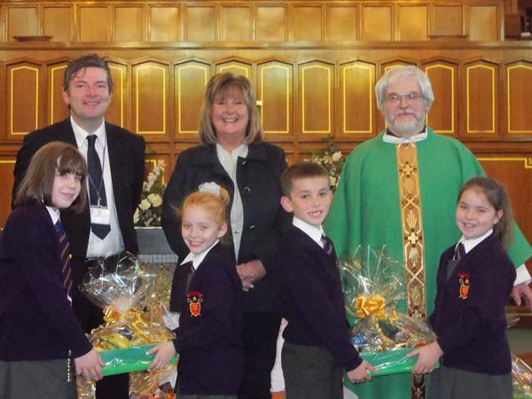 Hamper donations to Jospice