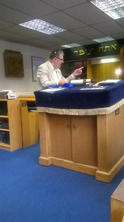 Synagogue Visit