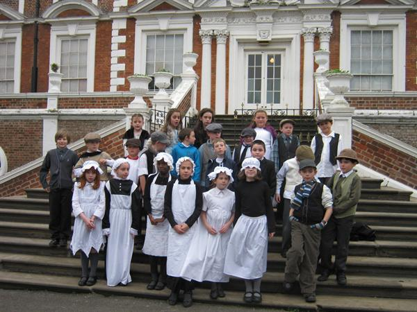 Year 5 Victorian Christmas Croxteth Hall