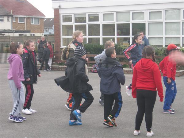 Sport Relief Playground Aerobics