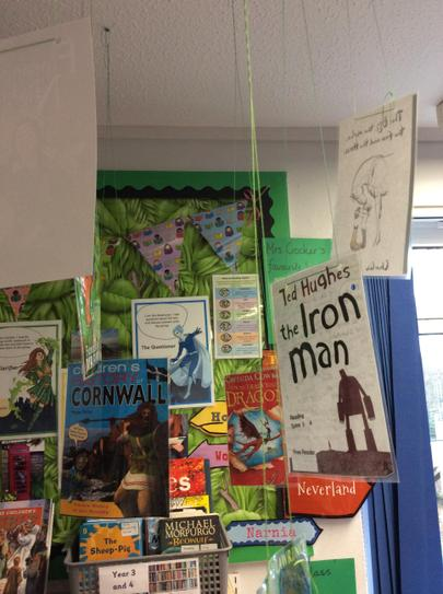 Class 3's favourite reads.