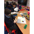 Learning about light in Science.