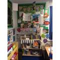 Inspiring reading areas.