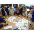 Sorting healthy and unhealthy food
