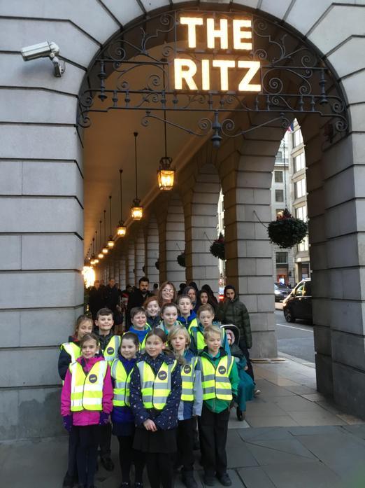 Feeling fancy at The Ritz!