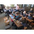 Experiencing a Victorian school lesson