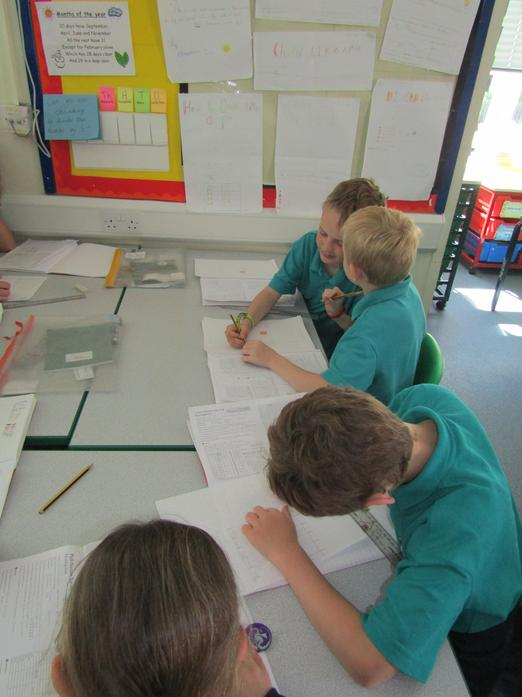 Year 4 presenting data from surveys