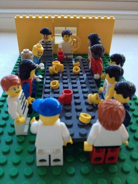 Make the Last Supper out of Lego.