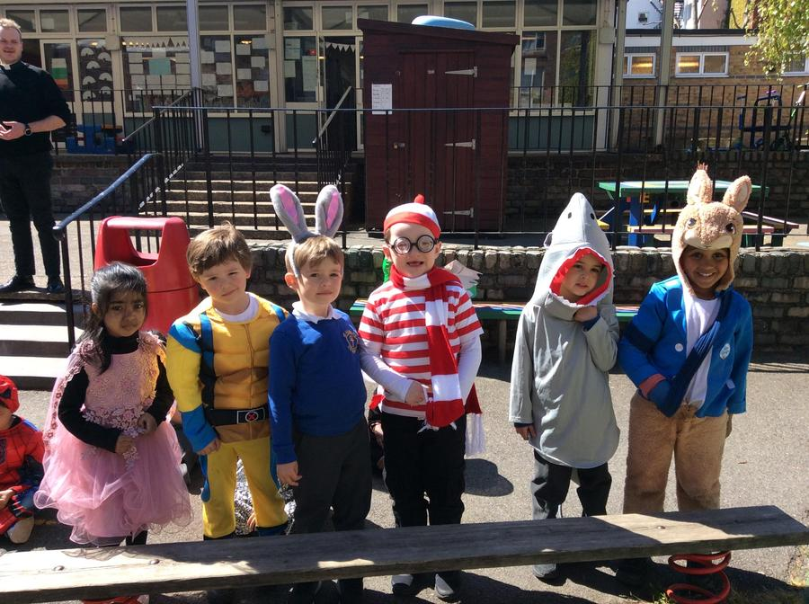 Some of our fantastic costumes!