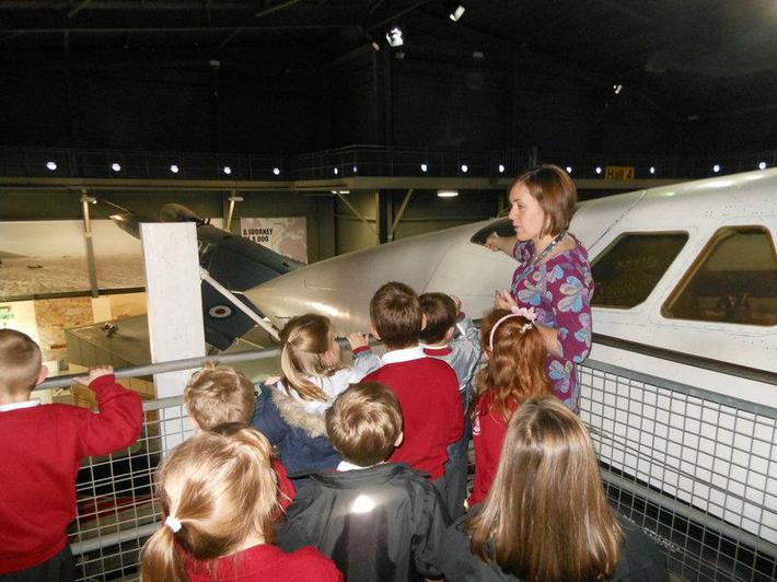 We were amazed by how fast Concorde could fly.