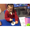 Making our own ozone layers on filter paper