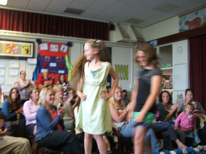 Year 5 recycled clothes