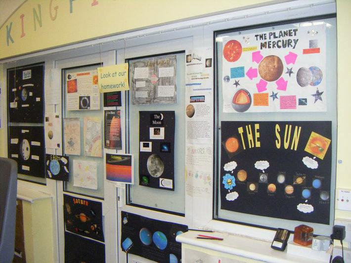 Look at our fantastic space homework posters