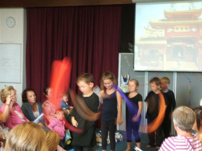 Year 1 Chinese dance