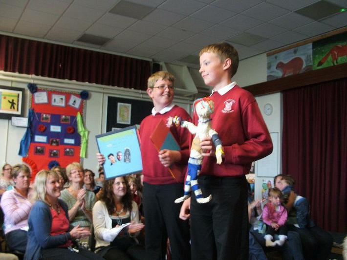 Year 6 Mylo puppet