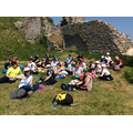Fantastic first day at Corfe Castle.
