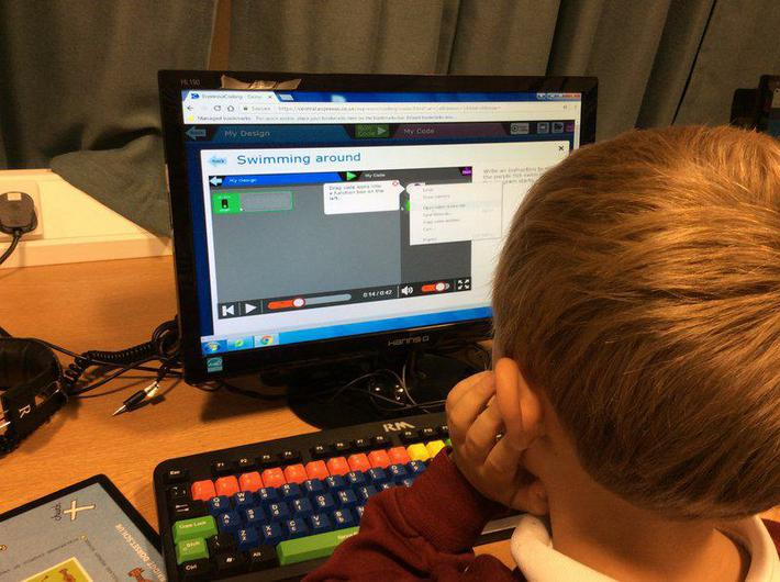 We have been coding in ICT.