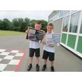 Harrison and Harley - Year 3 Winners