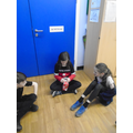 Pass the parcel with challenges - thank you Mrs Watson, we love it!