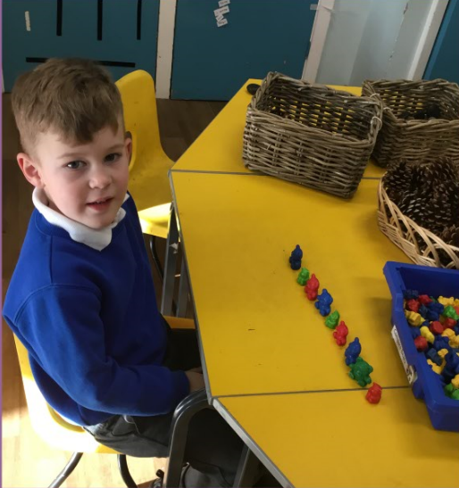I can make a repeating pattern!