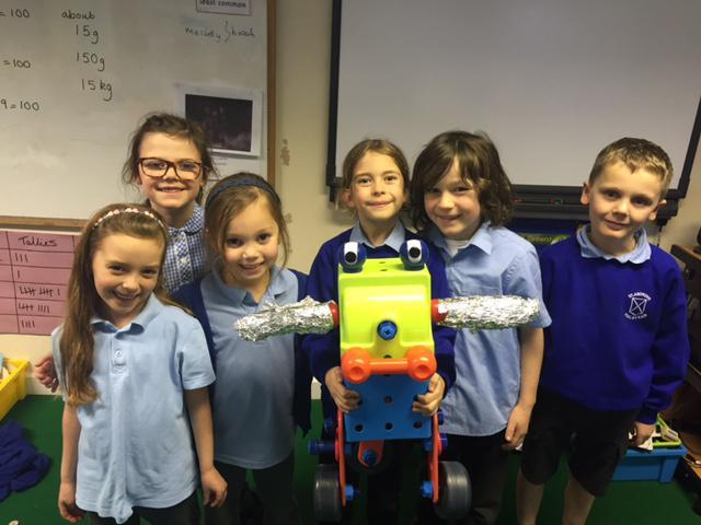 Our finished robot!