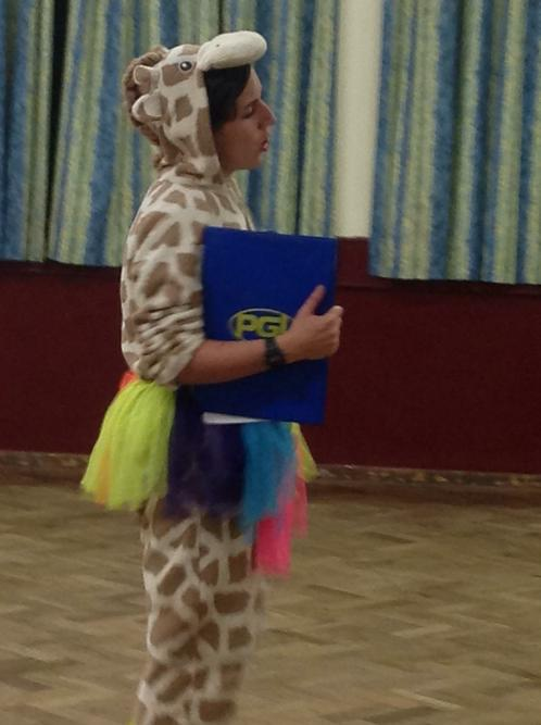 Our brilliant pgl group leader!