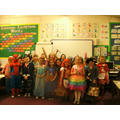 Look at our fabulous costumes!