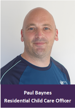 Paul Baynes (Residential Safeguarding Lead)