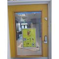 Fair Isle Classroom Door