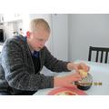 Preparing my own meal