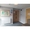 Doors into Residential Department