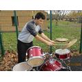 An Autumn drum session