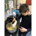 Making scones