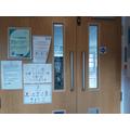 Main Doors in to School