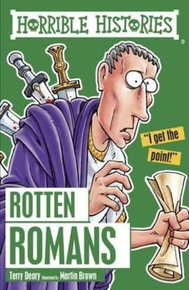 Rotten Romans by Terry Deary (AR 5.3)