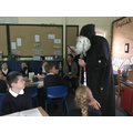 The Alchemist visited our classroom.