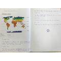 Learning about climate zones and crops in the Year 5 project Sow, Grow and Farm.