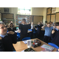 Learning about rhythm using our bodies.