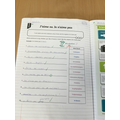 We have done some work on school subjects.