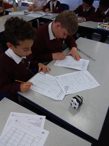 We spent time completing a maths investigation and we solved a mystery.